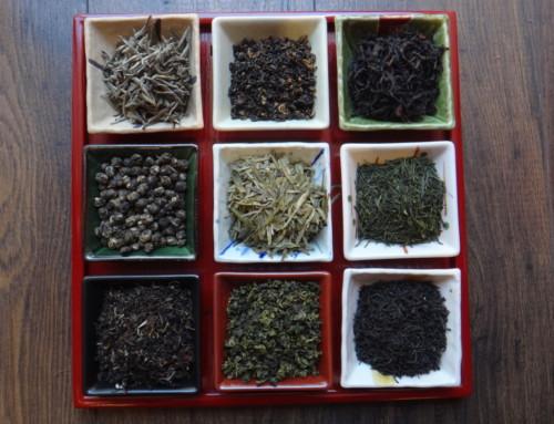 Les 6 familles de thés