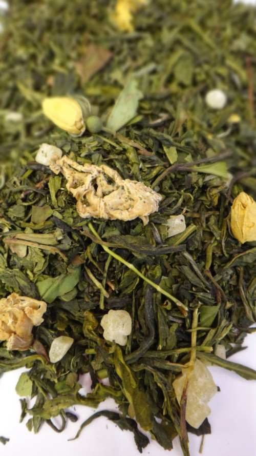 Thé vert poire