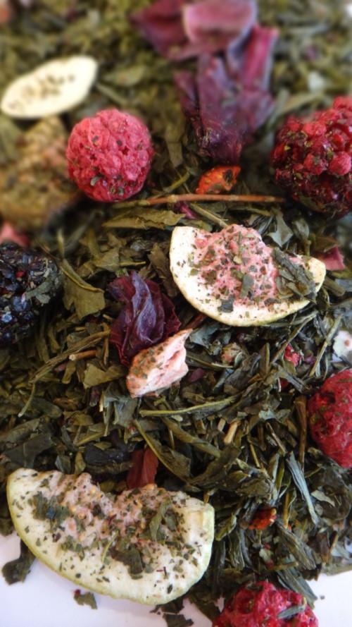 thé vert à la figue