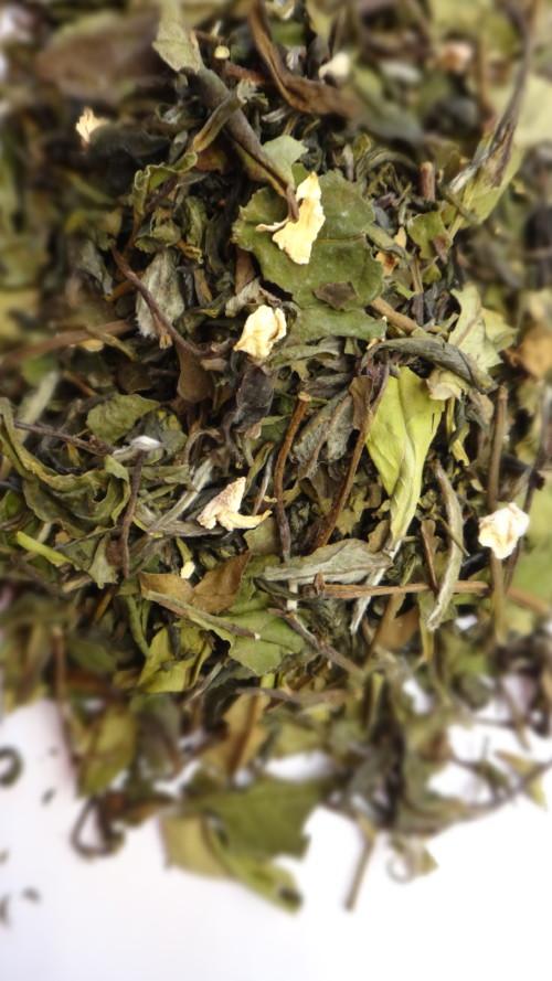 thé blanc parfumé