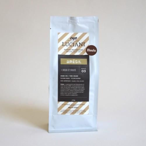 café brésil moulu