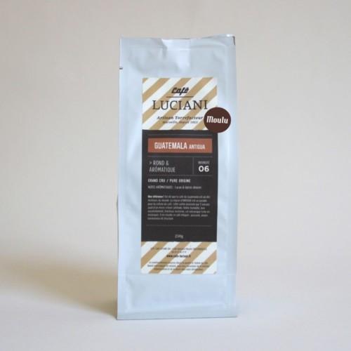 café moulu guatemala